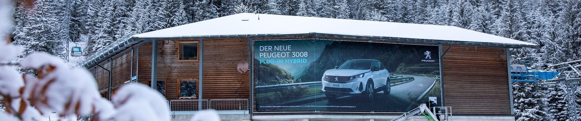 Partnerschaft mit Peugeot der Bergbahnen Adelboden AG