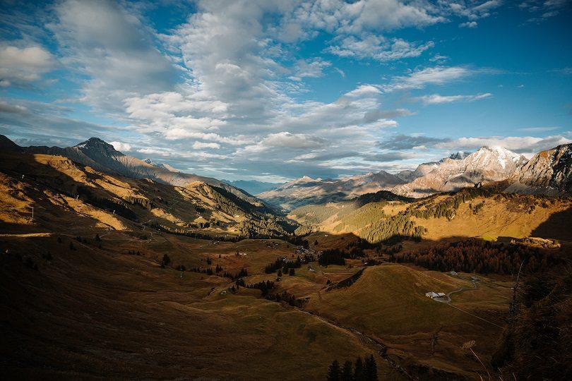 Herbstliche Landschaft am VogellisiBerg